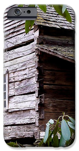 Cades Cove Cabin iPhone Case by Jim Finch