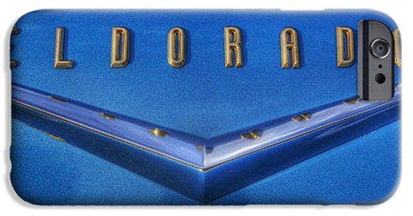 Model iPhone Cases - Cadillac Eldorado Emblem  iPhone Case by Lee Dos Santos
