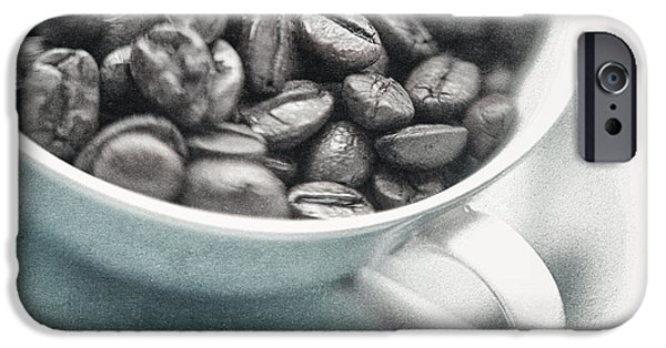 Conceptual iPhone Cases - Caffeine iPhone Case by Priska Wettstein