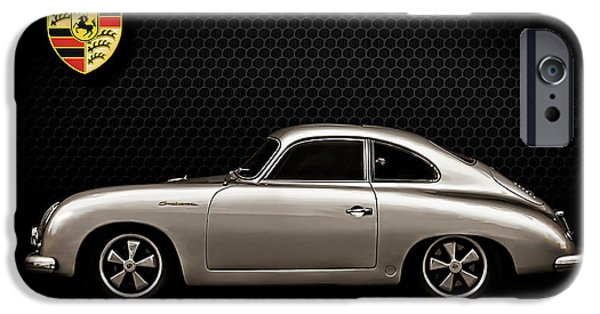 Silver iPhone Cases - Caliber 356 iPhone Case by Douglas Pittman