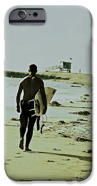 California Surfer iPhone Case by Scott Pellegrin