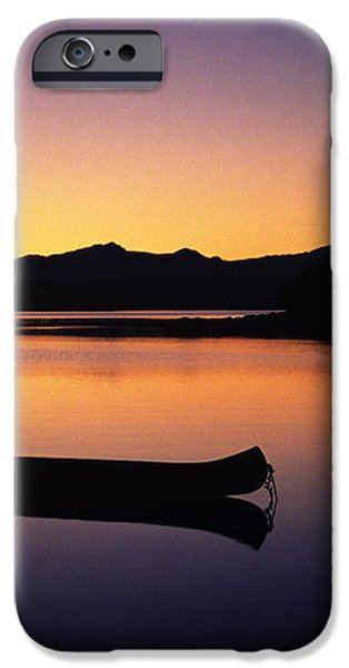 Calming Canoe iPhone Case by John Hyde - Printscapes