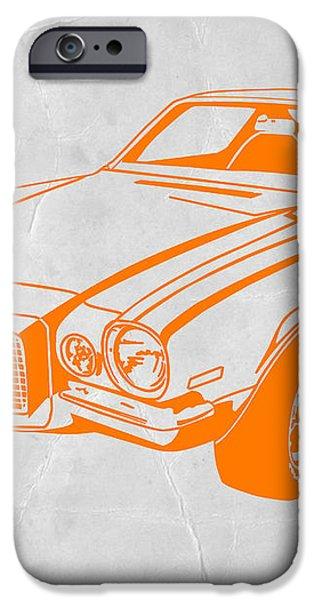 Camaro iPhone Case by Naxart Studio