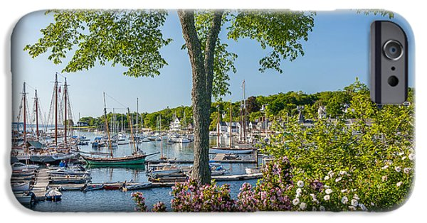 Mid-coast Maine iPhone Cases - Camden Spring iPhone Case by Susan Cole Kelly