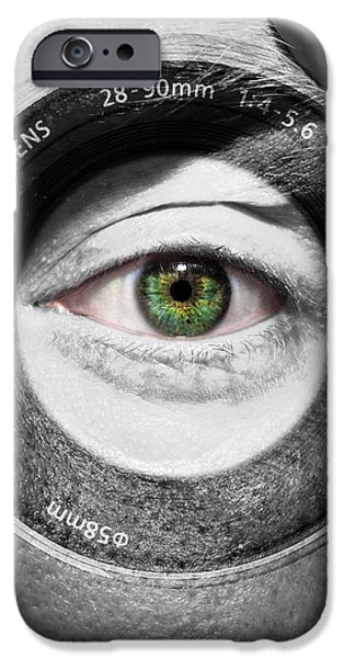 Camera Face iPhone Case by Semmick Photo