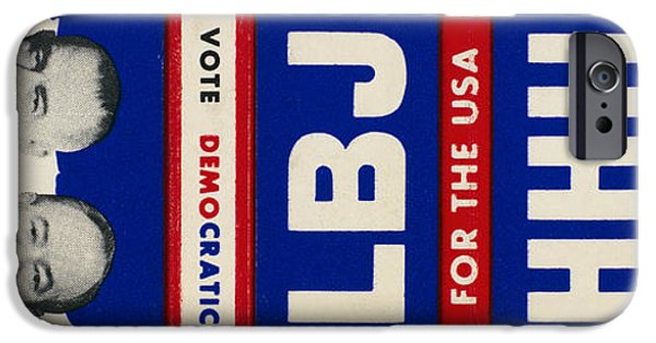 President iPhone Cases - Campaign Matchbook, 1964 iPhone Case by Granger