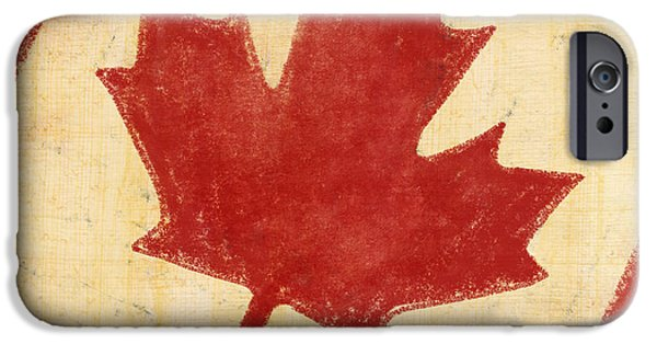 Patriotism iPhone Cases - Canada flag iPhone Case by Setsiri Silapasuwanchai