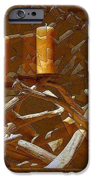 Candelabra iPhone Case by Ron Bissett