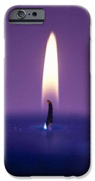 Candle Flame iPhone Case by Cristina Pedrazzini