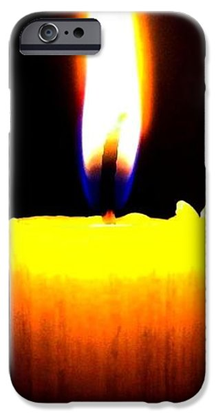 Candle Power iPhone Case by Will Borden