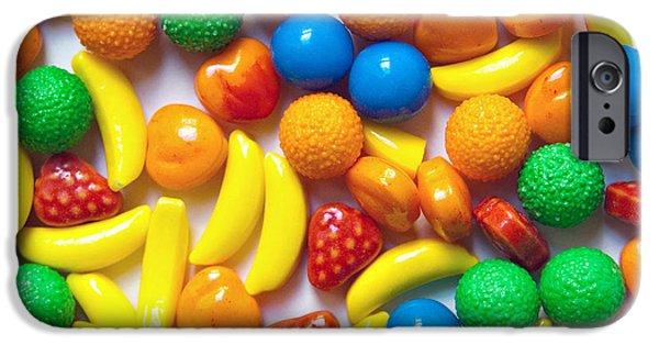 Hard Candies iPhone Cases - Candy Fruit iPhone Case by Art Block Collections