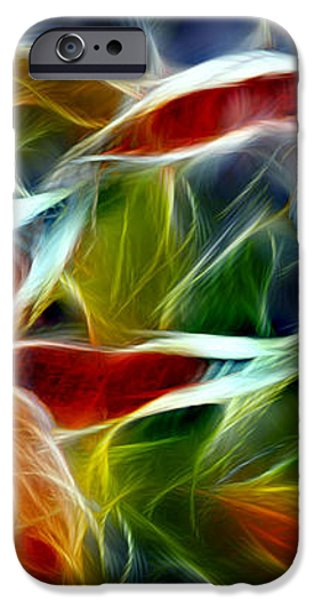Candy Lily Fractal  iPhone Case by Peter Piatt