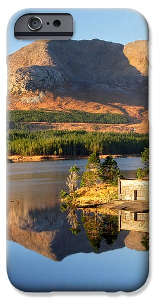 Canoe Club in Connemara Ireland iPhone Case by Pierre Leclerc Photography