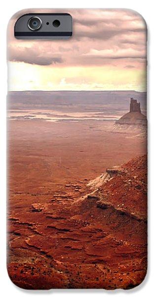 Canyonland Rain iPhone Case by Robert Bales