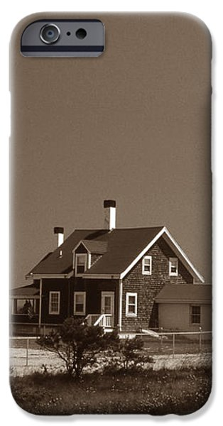 CAPE COD LIGHTHOUSE iPhone Case by Skip Willits
