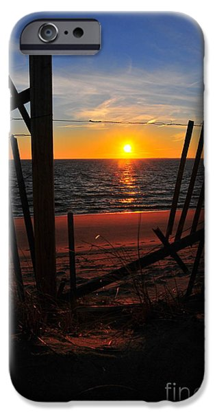 Cape Cod Sunset iPhone Case by Catherine Reusch  Daley
