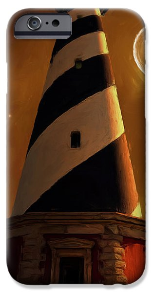 Northeast iPhone Cases - Cape Hatteras iPhone Case by Lourry Legarde