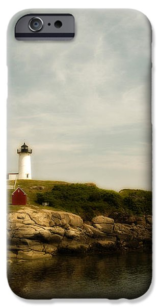 Cape Neddick Lighthouse iPhone Case by Warren Carrington