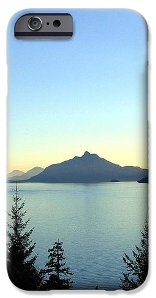 Captivating Howe Sound iPhone Case by Will Borden