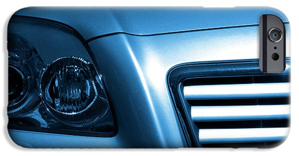 Technology iPhone Cases - Car Face iPhone Case by Carlos Caetano