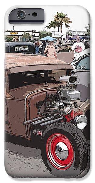 Car Show 1928 iPhone Case by Steve McKinzie