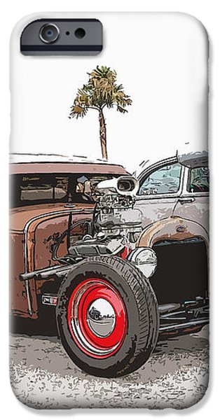 Car Show Cool iPhone Case by Steve McKinzie