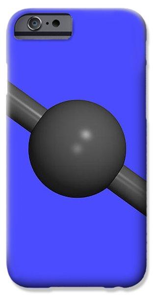 Carbon Dioxide iPhone Case by Dr Tim Evans