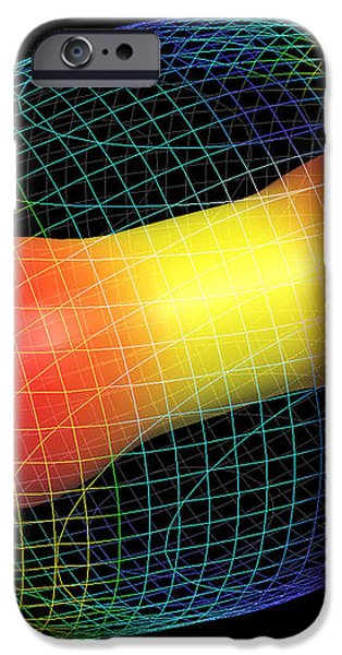 Carbon Dioxide Molecule iPhone Case by Pasieka