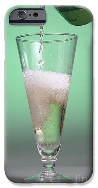 Carbonated Drink iPhone Case by Photo Researchers, Inc.