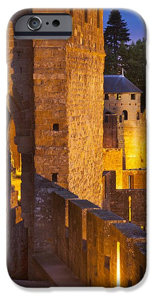Carcassonne Ramparts iPhone Case by Brian Jannsen
