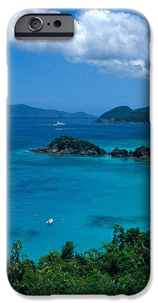 Caribbean Blue iPhone Case by Kathy Yates