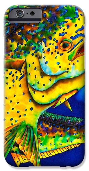 Caribbean Bull iPhone Case by Daniel Jean-Baptiste