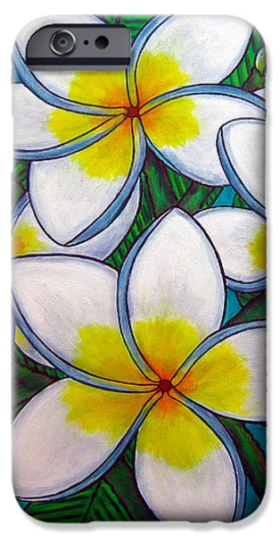 Caribbean Gems iPhone Case by Lisa  Lorenz