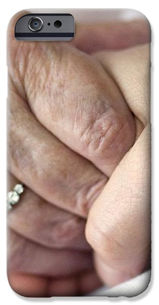 Caring For The Elderly, Conceptual Image iPhone Case by Crown Copyrighthealth & Safety Laboratory
