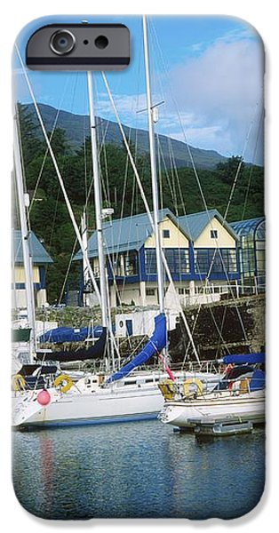 Carlingford Marina, Carlingford, County iPhone Case by The Irish Image Collection