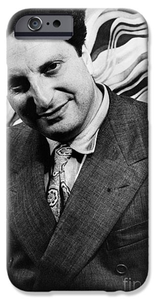 CARLO LEVI (1902-1975) iPhone Case by Granger