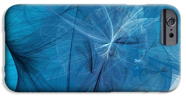 Fine Art Fractal iPhone Cases - Carmen iPhone Case by Andee Design