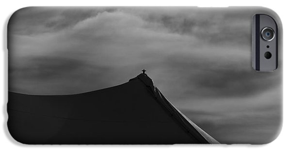 Poetic Photographs iPhone Cases - Carnival Tent iPhone Case by Bob Orsillo