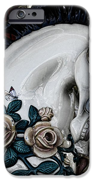 Carousel Horse - 8 iPhone Case by Paul Ward