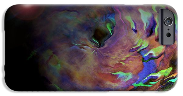 Photo Manipulation Digital Art iPhone Cases - Carpeltunnell iPhone Case by Robert Meanor
