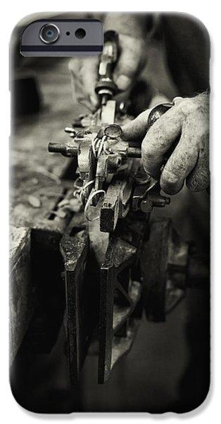 Carpenter l iPhone Case by Rob Travis