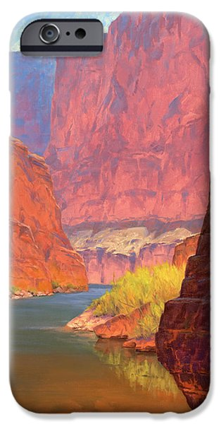 Western Landscape iPhone Cases - Carving Castles iPhone Case by Cody DeLong