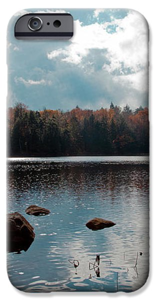 Cary Lake iPhone Case by David Patterson
