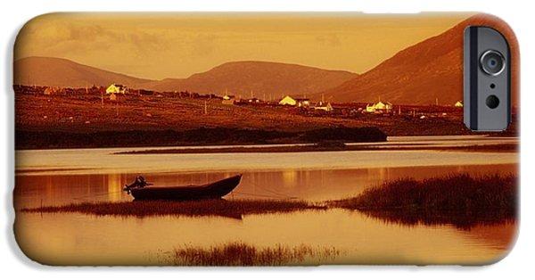 Cummins iPhone Cases - Cashel, Achill Island, County Mayo iPhone Case by Richard Cummins