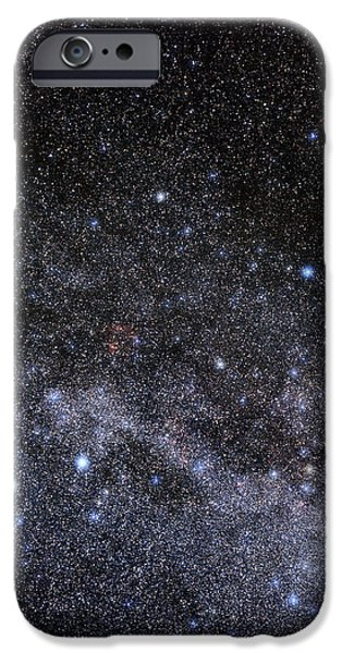 Cassiopeia And Cepheus Constellations iPhone Case by Eckhard Slawik
