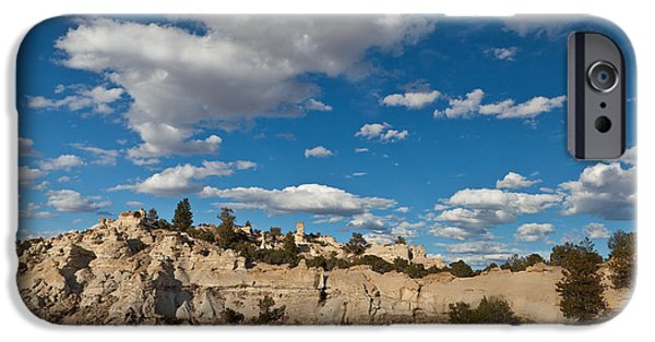Wyoming iPhone Cases - Castle Gardens Wyoming iPhone Case by Steve Gadomski