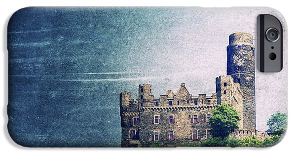 Castle iPhone Cases - Castle Mouse iPhone Case by Angela Doelling AD DESIGN Photo and PhotoArt
