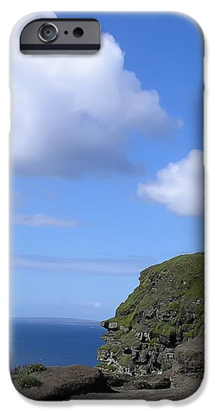 Castle on the Cliffs of Moher iPhone Case by Bill Cannon