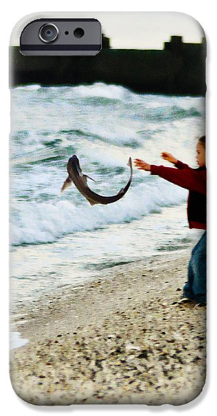 Catch and Release iPhone Case by Bill Cannon