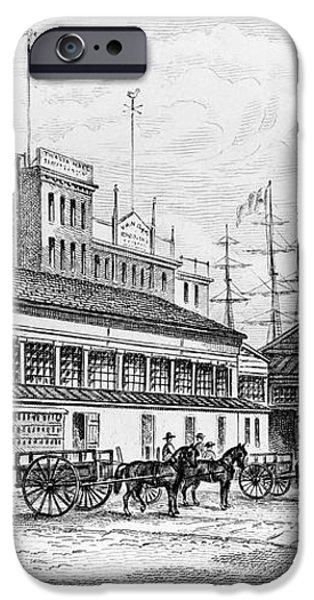 CATHARINE MARKET, 1850 iPhone Case by Granger